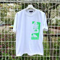RARETE (ラルテ)  マリリンモンロー 蛍光 グリーン  Tシャツ ホワイト