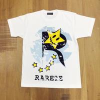 RARETE (ラルテ)   ロゴ  Tシャツ ホワイト  星柄 star