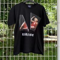 RARETE (ラルテ) ZIP マリリンモンロー ファスナー  Tシャツ ブラック