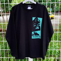 RARETE (ラルテ) マリリンモンロー ビジョナリーミント  ブラック  長袖Tシャツ