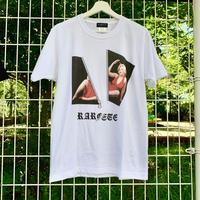RARETE (ラルテ) ZIP マリリンモンロー ファスナー Tシャツ ホワイト