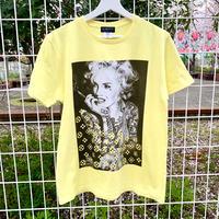 RARETE (ラルテ)  マリリンモンロー モノ ライト イエロー  Tシャツ