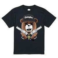 RARETE (ラルテ)    NWA テディベア Tシャツ  ブラック