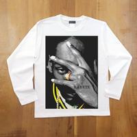 RARETE (ラルテ) スヌープドッグ pose   ホワイト  長袖Tシャツ