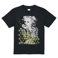 RARETE (ラルテ)  マリリンモンロー モノ ブラック  Tシャツ
