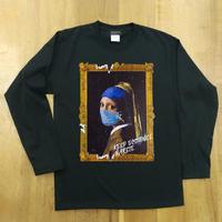 RARETE (ラルテ) フェルメール マスク ブラック  長袖Tシャツ