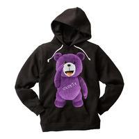 RARETE (ラルテ) テディベア あっかんベー!【紫色】 ブラック