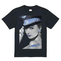 RARETE (ラルテ)    Hepburn ブルー Tシャツ  ブラック