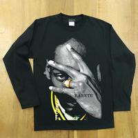 RARETE (ラルテ) スヌープドッグ pose   ブラック  長袖Tシャツ