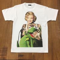 RARETE (ラルテ)   マリリンモンロー  Frog  Tシャツ  ホワイト  Tシャツ 星柄 star