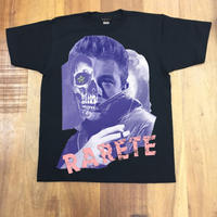 RARETE (ラルテ)    ジェームス・ディーン コラージュ  Tシャツ  ブラック  星柄
