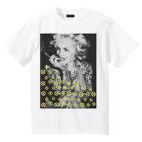 RARETE (ラルテ)  マリリンモンロー モノ ホワイト Tシャツ