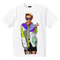 RARETE (ラルテ)    Miley  カラフル ジャケット  Tシャツ  ホワイト