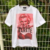 RARETE (ラルテ) マリリンモンロー ピンク  Tシャツ ホワイト