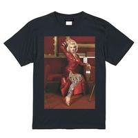 RARETE (ラルテ)    マリリンモンロー Party Dress Tシャツ ブラック