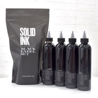 SOLID INK BLACK LABEL Grey Wash 4oz 4本セット