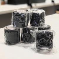 グリップカバー テープ(Black)6個