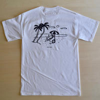 ''DANA SPORTS''    BEACH  S/ST   WHITE/GRAY