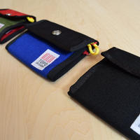 'TOPO DESIGNS'  SNAP WALLET   BLUE/KAHKI/BLACK