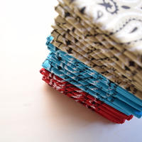 HAV A HANK バンダナ ペイズリー BLUE/RED/BEIGE
