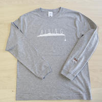 ''DANA SPORTS'' HIKING Long Sleeve TEE (GRAY)
