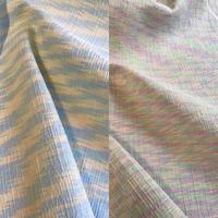 かすりシルク混  三重織 2カラーバリエーション KAD