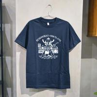 READAN DEAT × 本と自由 Tシャツ