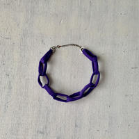 Chain Necklace -Purple-