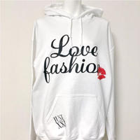 LOVE FASHION WHITE PARKA