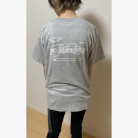 Iii.STORE  NO SMOKING  T-SHIRT  (グレー)