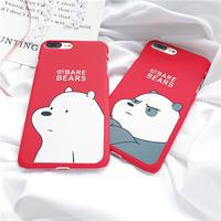 可愛い 熊柄 スマホケース