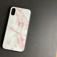 Iii.STORE  MALBLE PINK  iPhone CASE