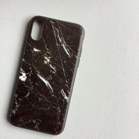 Iii.STORE  MARBLE BLACK  iPhone CASE