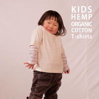 KIDS HEMP ORGANIC COTTON T-shirts