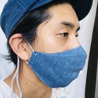 FACE GUARD 立体マスク  シャンブレー