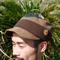 Pachwork corduroy cap