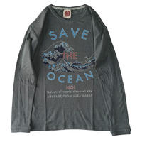 SAVE THE OCEAN! TEPPO LONG T