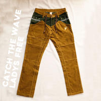 CATCH THE WAVE Corduloy Pants Ladys Free