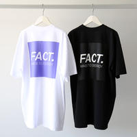 FACT. / Box Logo S/S Tee (ユニセックス)