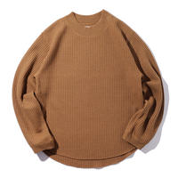 MY_ / BIG WAFFLE PULLOVER 203-61105