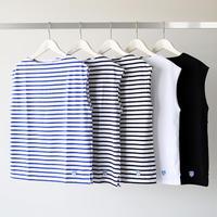 ORCIVAL オーシバル / ボートネックスリーブレスTシャツ RC-9165 (レディース)
