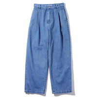 MY_ / TUCK DENIM PANTS 203-61503