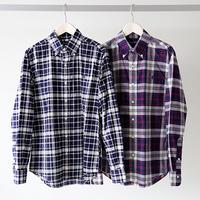 GYMPHLEX ジムフレックス / 長袖 チェックシャツ J-0643 BGM