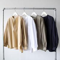 LE GLAZIK (ル グラジック) / バンドカラー スキッパーシャツ WOMEN JL-3660 TYG