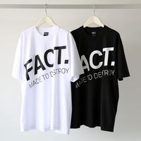 FACT. / Diagional Logo S/S Tee (ユニセックス)