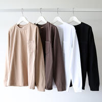 GOODWEAR / レギュラー長袖ポケットTシャツ (ユニセックス)