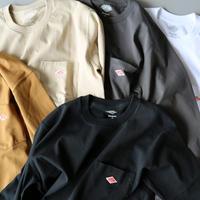 DANTON ダントン / 長袖ポケットTシャツ JD-9077 (ユニセックス)