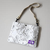 THE NORTH FACE PURPLE LABEL / Paisley Print Logo Tape Lightweight Shoulder Bag NN7919N