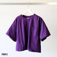 GOODWEAR / クロップド半袖ポケットTシャツ GDW-001-191015 (レディース)