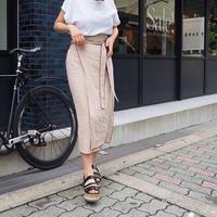 piping wrap skirts (BEG)